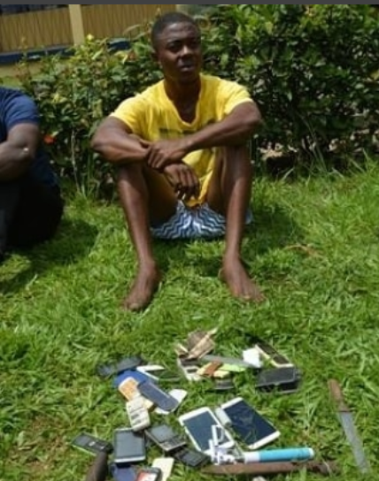 Photos: 19-Year-Old Notorious Cultist Arrested With 15 Mobile Phones