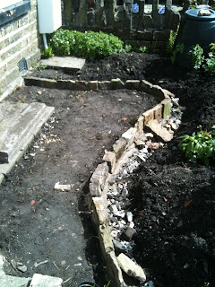 herbs, gardening, creating new garden beds, life on pig row