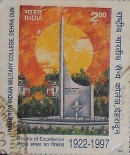 RIMC, Dehradun: Glimpse of India through Philately