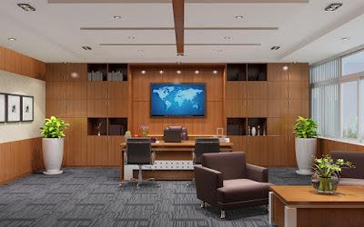 Thiết kế nội thất văn phòng cho giám đốc