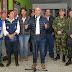 Aquí estamos, a su lado, dando fortaleza, dando apoyo y también una respuesta integral por parte del Estado', les dijo el Presidente Duque a damnificados de Rosas, Cauca