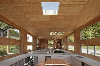 Casa de madera de diseño en Japón