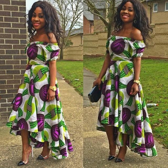 Nigerian Wedding Dress Designs: Ankara Dresses Styles For Dinner