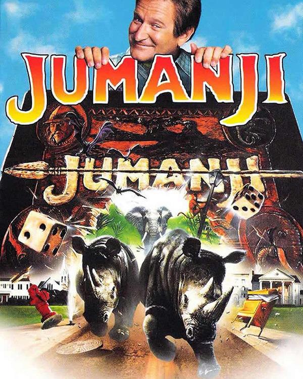 """BIOSKOP LAYAR LEBAR """"JUMANJI 1995"""" SUBTITLE INDONESIA"""
