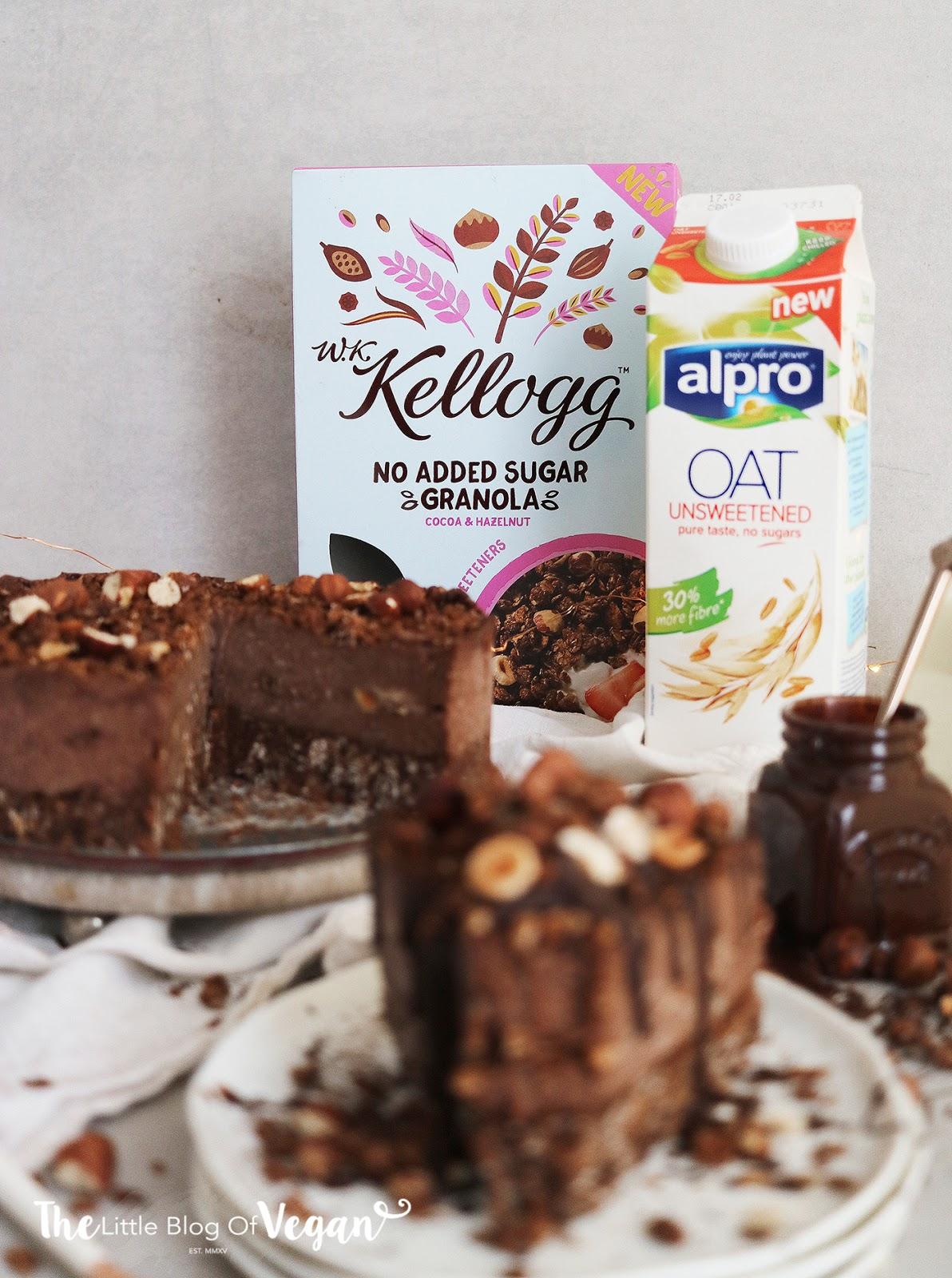 Easy No Bake Praline Cheesecake Recipe Ft Alpro The