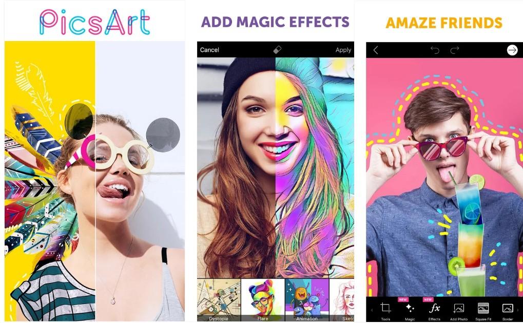 PicsArt  App - Screenshots