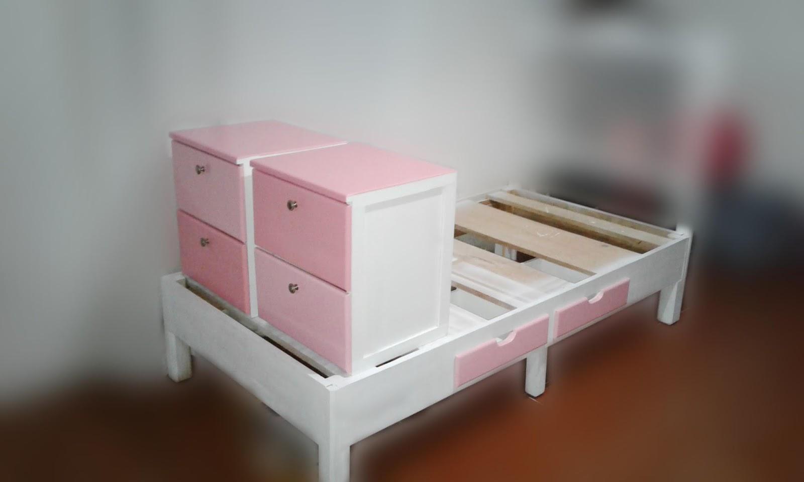 Ideas artswood como hacer base de cama y bur s de madera for Como hacer una base de cama