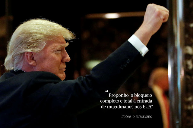 frases polêmicas de Donald Trump
