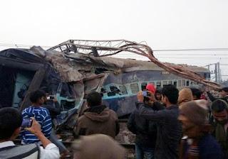 Descarrilamiento de un tren en India dejó 39 muertos