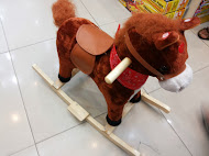 MUSICAL SINGING ROCKING HORSE