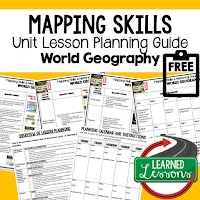 https://www.teacherspayteachers.com/Product/Mapping-Skills-Lesson-Plan-Guide-for-World-Geography-Back-To-School-4318065