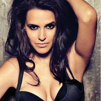 enticing and gorgeous Neha dhupia pics gallery in black
