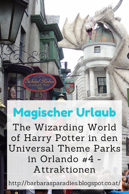Magischer Urlaub: The Wizarding World of Harry Potter in den Universal Theme Parks in Orlando #4 - Attraktionen