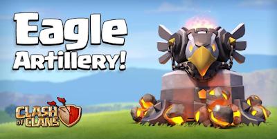 Biaya dan Lamanya Upgrade Eagle Artillery level 1 dan 2