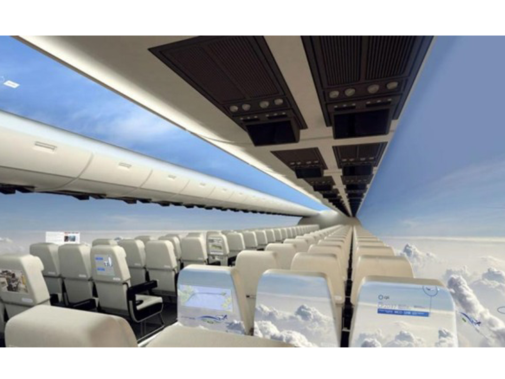 Windowless Planes To Hit the Skies In The Next 10 Years! Is This The Future of Flying?