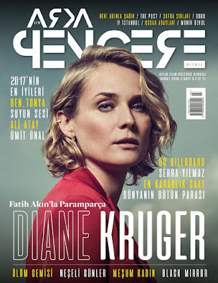 Arka Pencere Mecmua 3. Sayı (Şubat) - Diane Kruger