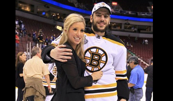 Milan Lucic S Wife Brittany Carnegie Is Happy With Him