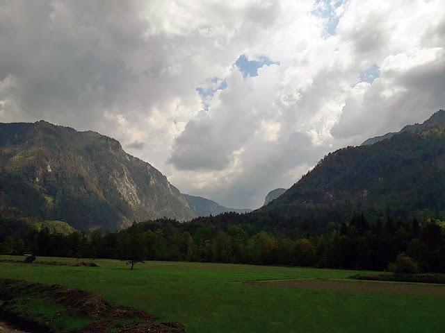 Les montagnes autour de Lunz am See / photo S. Mazars