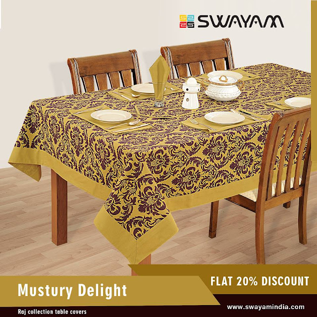 dining table cover online