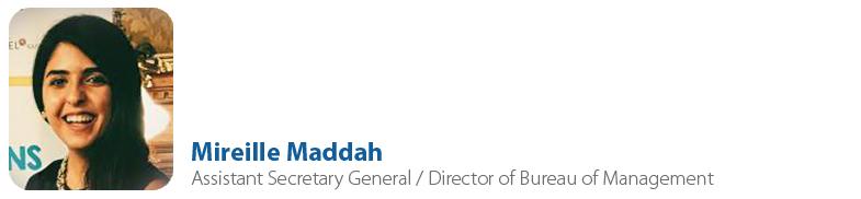 Mireille Maddah, IYF Assistant Secretary General