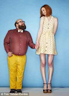 Tall lady - short man