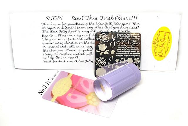 Recenzja Clear Jelly Stamper + projekt u Terii: Tydzień 6 - Jesień / Clear Jelly Stamper Review + Teria's Nail Art Project: Week 6 - Autumn
