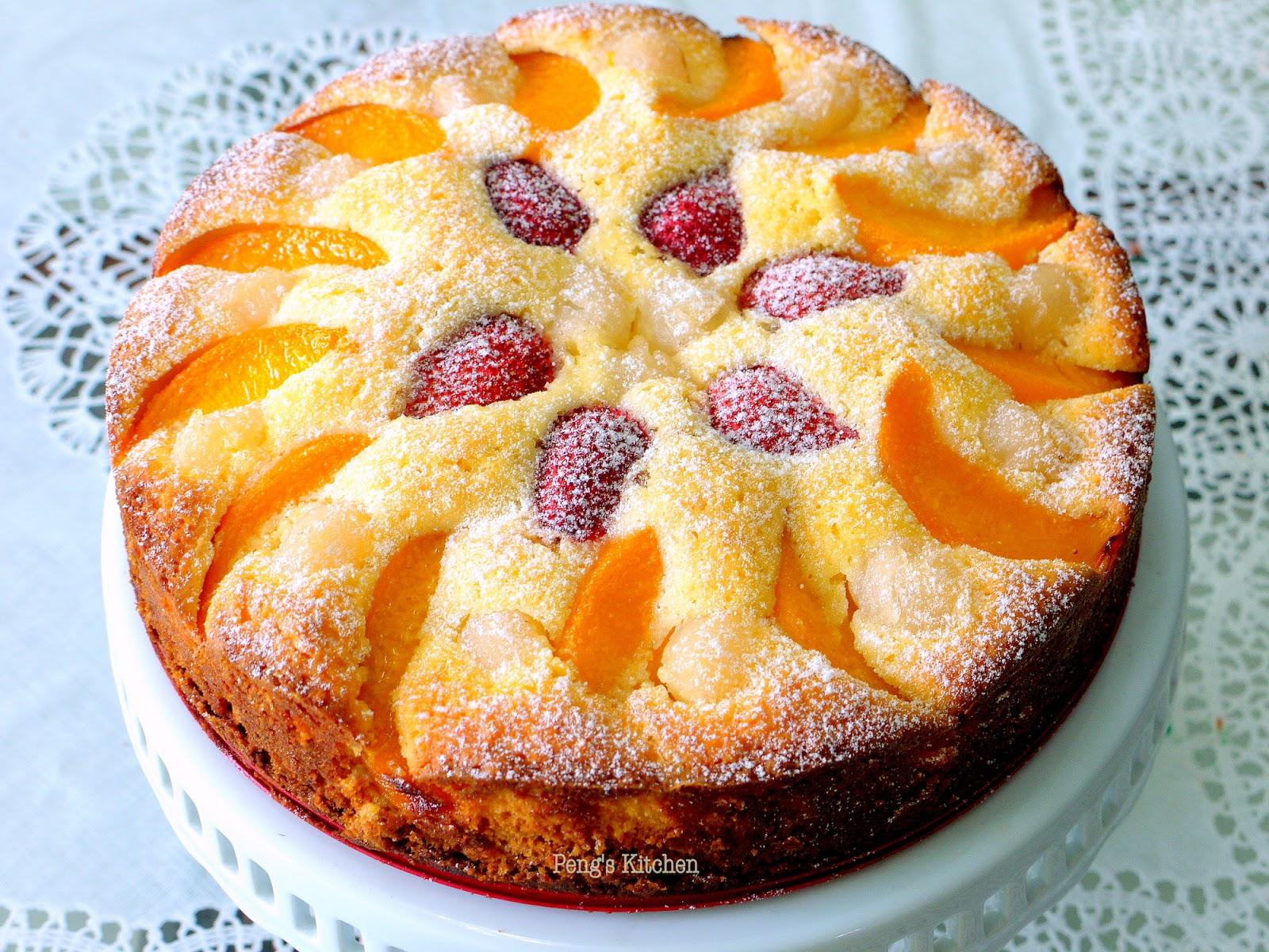 Fruit Cake Not Much Flour