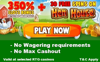 Best Weekly Offer: 350% No Rules Match plus 30 Free Spins
