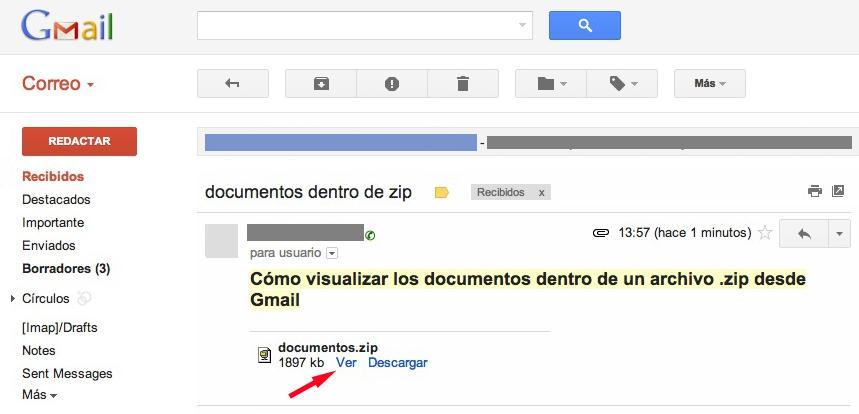 Esto Es Google Visualicen El Contenido De Archivos Zip O