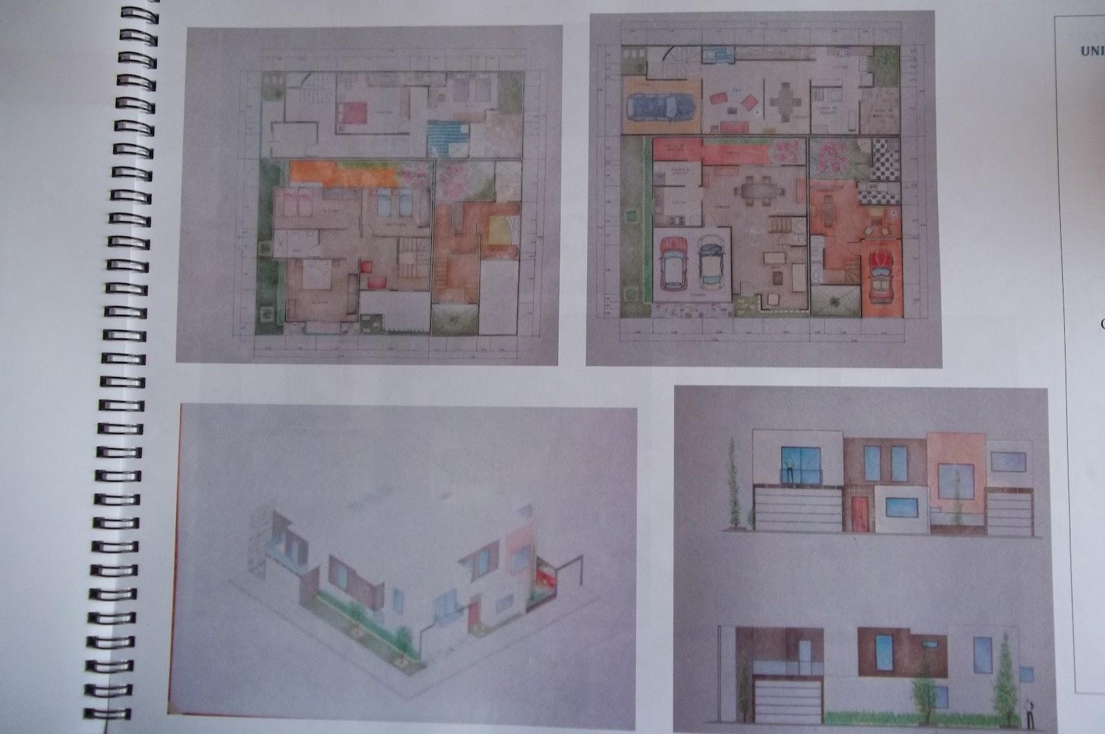 Arquitectura for Proyecto casa habitacion minimalista