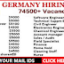 Recruitment in Germany : Apply Now