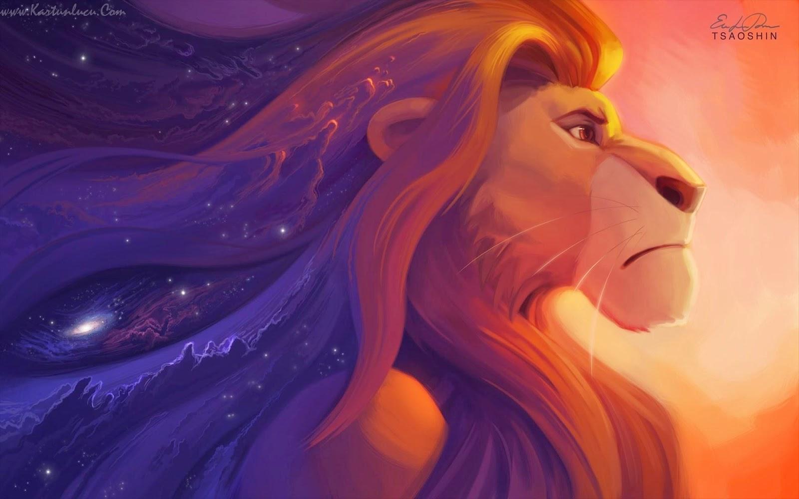 WALLPAPER SIMBA LION KING Gambar Kartun Lucu Dan Wallpaper Keren