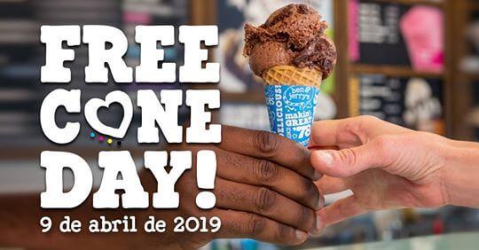 Free Cone Day 2019. Sorvete Grátis. É HOJE! Encontre a sorveteria mais próxima de você, convide aquele amigue especial, divirta-se nas nossas filas e, o melhor, coma muita casquinha GRÁTIS! #FREECONEDAYBR #FREECONEDAY #topdapromoção #sorteio #promoção