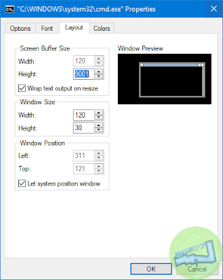 Kustomisasi Command Prompt Di Windows Tab Layout