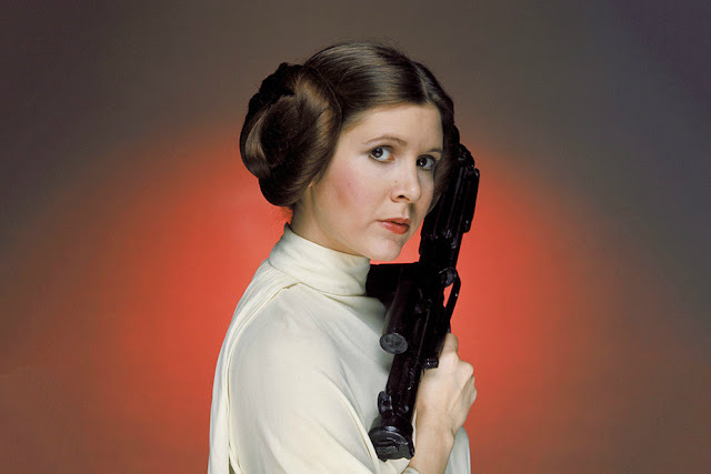 Carrie Fisher es la Princesa Leia