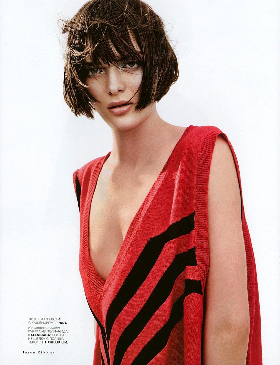 Fashion week Sam vogue rollinson russia july for lady
