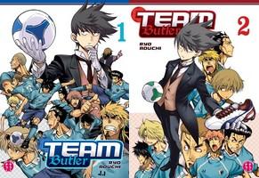 Lisez notre avis concernant les tomes 1 et 2 de Team Butler