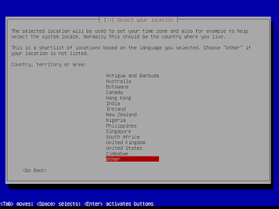 Cara Instal linux Debian memory