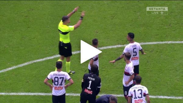 Video AC Milan 0 - 0 Genoa Serie A Vòng 9