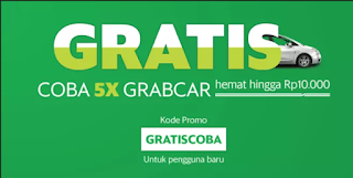Kode Promo Grab Lengkap Grab Car, Grab Bike, Grab food