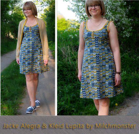 Kleid Lupita und Jacke Alegra by Milchmonster