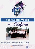 Folklorna večer Bfd Ciciljona - Novo Selo slike otok Brač Online