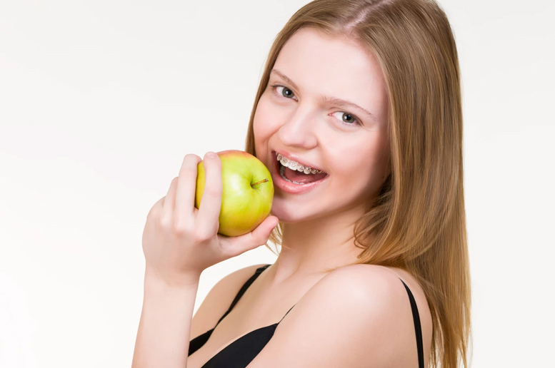 Eating With Dental Braces