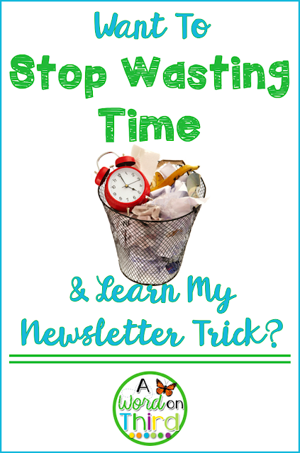 Want To Stop Wasting Time & Learn My Newsletter Trick?