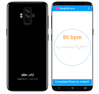 Vkworld s9 with heart rate sensor