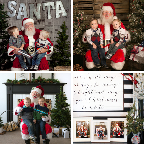 Santa photo mini-sessions