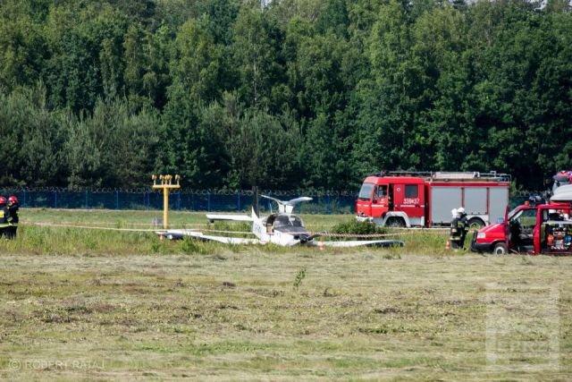 У Польщі під час посадки розбився український літак