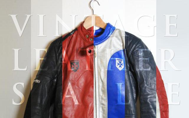 vintage motorcycle jacket sale ~ return of the cafe racers