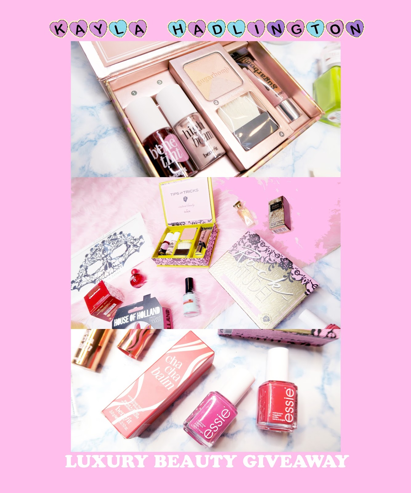 LUXURY BEAUTY GIVEAWAY #KaylaHadlingtonRELAUNCH