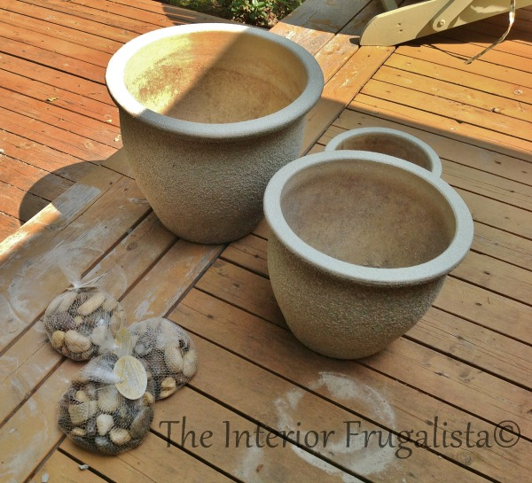 How To Turn Trio of Plant Pots Into A Water Fountain